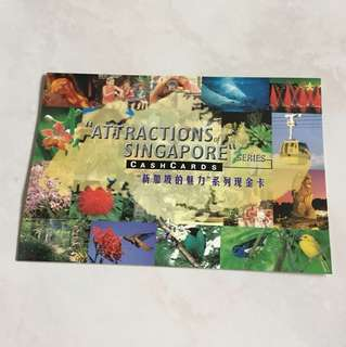"""ATTRACTIONS of SINGAPORE "" CASH CARDS"