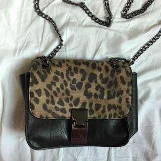 Topshop Cheetah Sling Bag