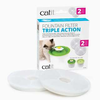 Catit Fountain Filter Triple Action 2's