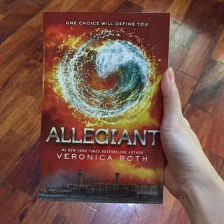 BOOKS Allegiant by Veronica Roth