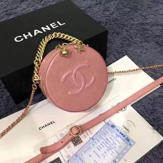 Chanel round sling bag