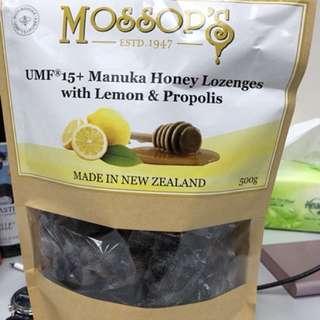 Mossop's Propolis & UMF 15 Lozenges