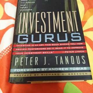 Investment Gurus - Peter J. Tanuos