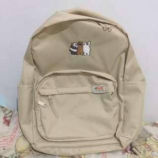 SPAO We Bare Bears Backpack