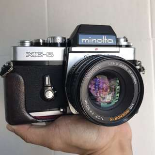 Minolta XE5+50mm F1.7