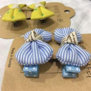 Children Hair Clip (2 pair RM8)