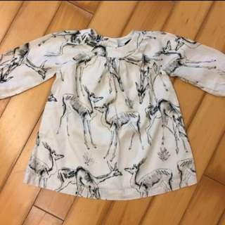 Gap baby girl one piece and denim dress