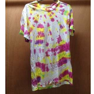 Tie dye printed shirts (2 pcs available)