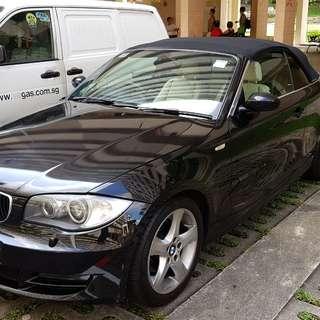 BMW 120i Convertible Auto
