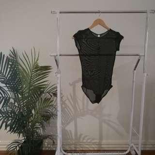 BNWT Mesh Body Suit - Size 8