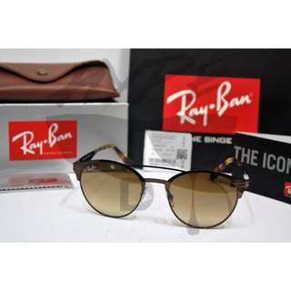 Authentic Ray Ban RB3545 014/51Gradient Dark Brown.