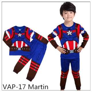 Captain America sleep wear set