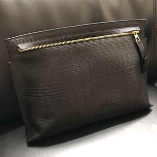Loewe T pouch in black