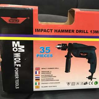 600W Impact Power Drill 13mm