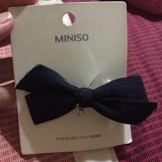 Miniso hair bow clip