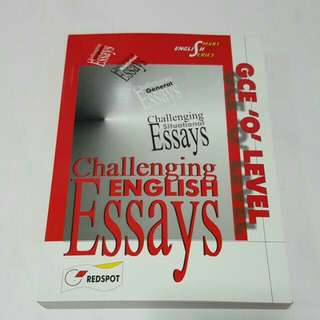 FIXED PRICE📬Brand New GCE 'O' Level Challenging Situational Essays Book