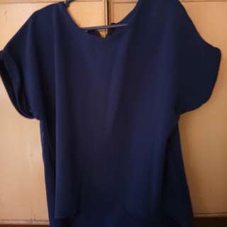 Plus size Longback blouse