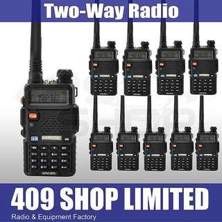 10pcs x BAOFENG UV-5R Daul Band walkie talkie