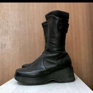 🚚 徵 古著 靴