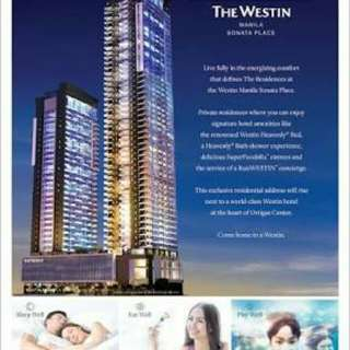 The Residences at The WESTIN MANILA SONATA PLACE, The 1st and only Westin Residential Brand in Southeast Asia