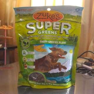 Zuke's Super Greens Soft Dog Treats (170g)