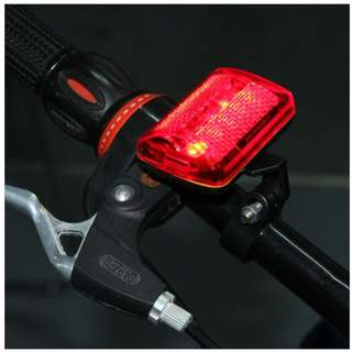 5 LED BIKE TAIL LIGHT BICYCLE RED FLASHLIGHT REAR LAMP 7 MODE WITH FREE SHIPPING