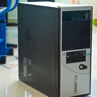 Computer CPU casing case