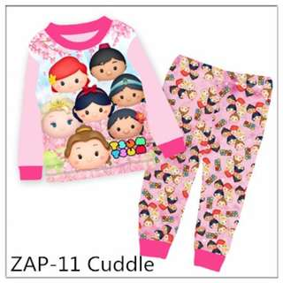 Tsum tsum pink sleep wear set