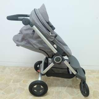Stroller Stokke Scoot V2 model terakhir - Grey