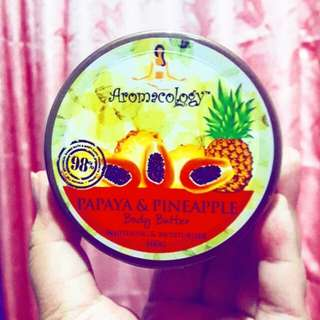 Aromacology Papaya and Pineapple Body Butter (Whitening and Moisturizer)