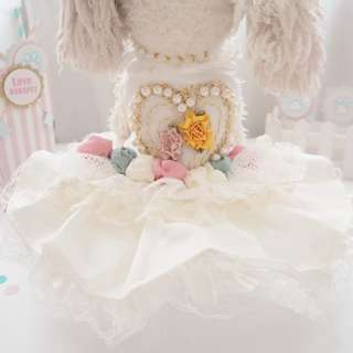 BN Prettiest Princessy Pets Bridal Tulle Dress Collection - Pet/ Cat/ Dog