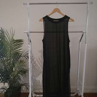 Glassons Sheer Dress - Size 8