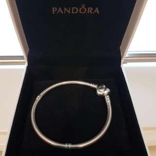 Authentic Pandora Heart Bracelet 18cm