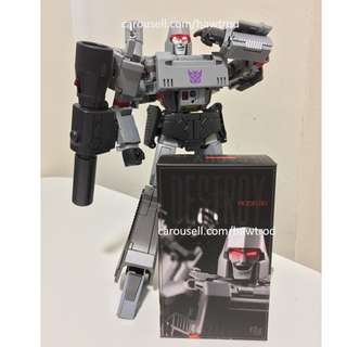 (In Stock) Model-001 Head/Face Kit with LED for both Takara and KO MP-36 Megatron