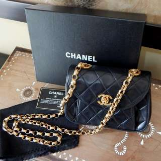 CHANEL quilted lambskin bijoux chain flap bag (#2)