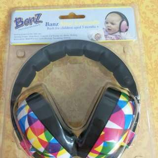 Branded Baby Headphone aged 3 months ++
