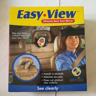 Sunshine Kids Easy View Ultimate Back Seat Mirror (Rear)