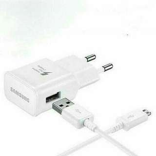 SAMSUNG adaptor fast charging cas casan charger 100% Ori