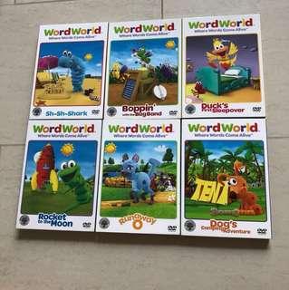 wordworld educational dvds