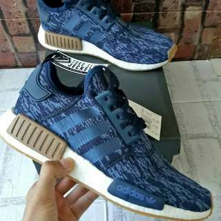 ADIDAS NMD R1 LEGEND INK NAVY GUM UNAUTHIRIZED AUTHENTIC (UA)  BASF BOOST