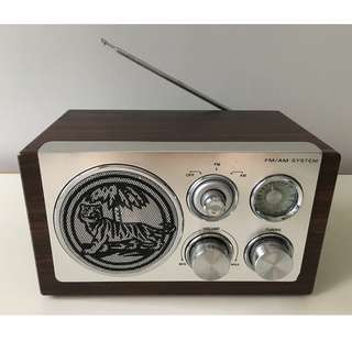 Tiger beer radio