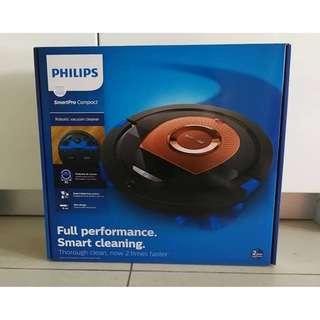 -BRAND NEW- Philips Smartpro Compact Robot Vacuum Cleaner