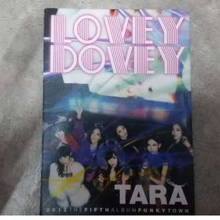t-ara lovey dovey album (korea )