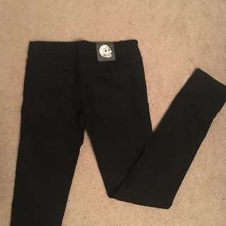 Cheap Monday black jeans size 28/30