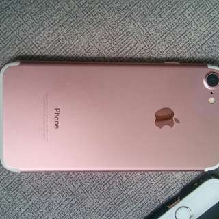 IPhone 7 128gb Rose gold 98%new