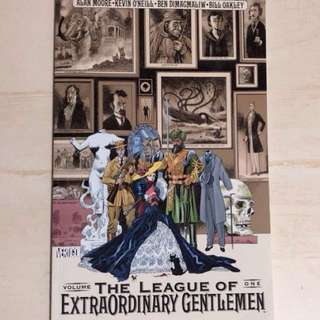 The League of Extraordinary Gentleman Volume 1