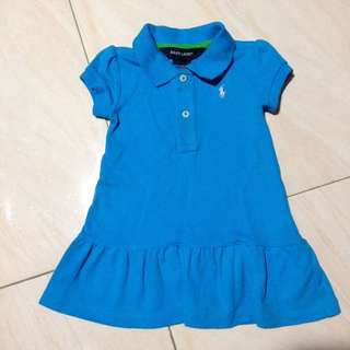 RALPH LAUREN DRESS 9mos