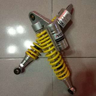 🚚 Moxi 避震器 330mm 黃色 後雙避震