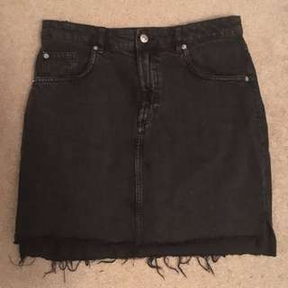 H&M denim skirt size 10