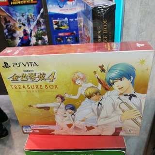 (Brand New) PS Vita La Corda D'oro 4 Treasure Box 金色琴弦4 琴定终生 Box